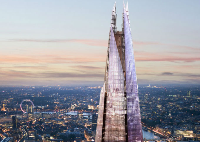 The Shard: el techo de Londres